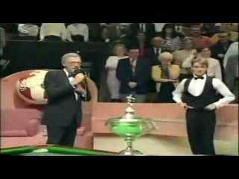 Snooker - 1992 World Final - Post match interview...