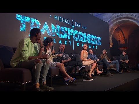Transformers 5: The Last Knight Cast Interview - Global Fan Event
