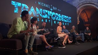 Transformers 5: The Last Knight Cast Interview - Global Fan Event thumbnail