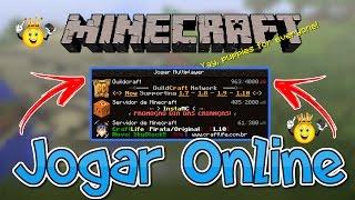★Como jogar Online Servidores Minecraft PC Pirata