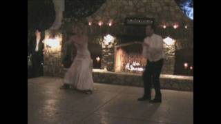 Matt and Melanie's Surprise First Dance - Rock the Reception style