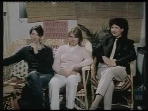 Martha and the Muffins INTERVIEW Echo Beach Johnson Ladly Mark Gane