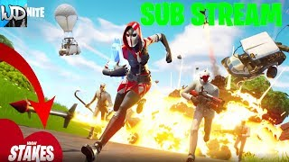 FORTNITE GETAWAY LTM PLAYING WITH SUBSCRIBERS - FORTNITE LUNDI