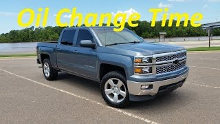 how to 2014 silverado sierra 5 3 oil change diy