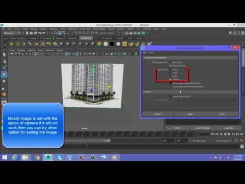 Autodesk maya 2016: setting up image planes