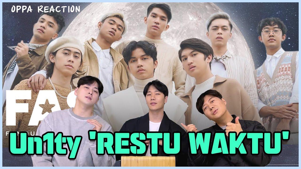 KOREAN REACTS TO UN1TY - 'Restu Waktu' MV Reaction   kkyuleogi IND