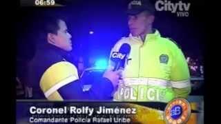 Arriba Bogotá: El Noctámbulo registró capturas y accidentes en la noche bogotana