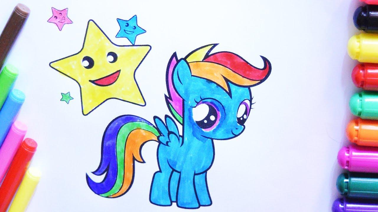 My Little Pony Boyama Sayfası çocuklar Için Youtube
