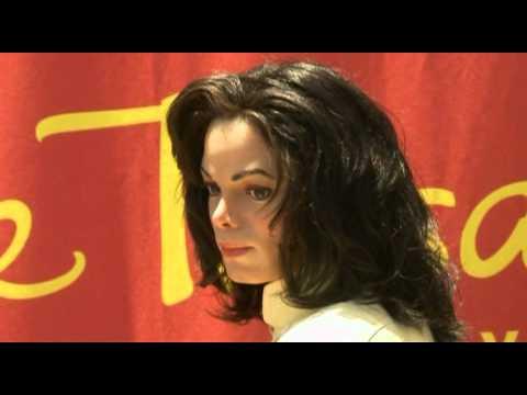 Michael Jackson tribute at Madame Tussaud's