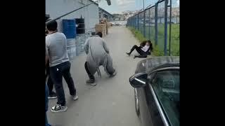 Çukur - Maskeli Ve Metin Dövüş Sahnesi Kamera Arkası