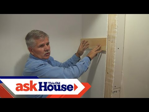 How to Trim a Coat Closet