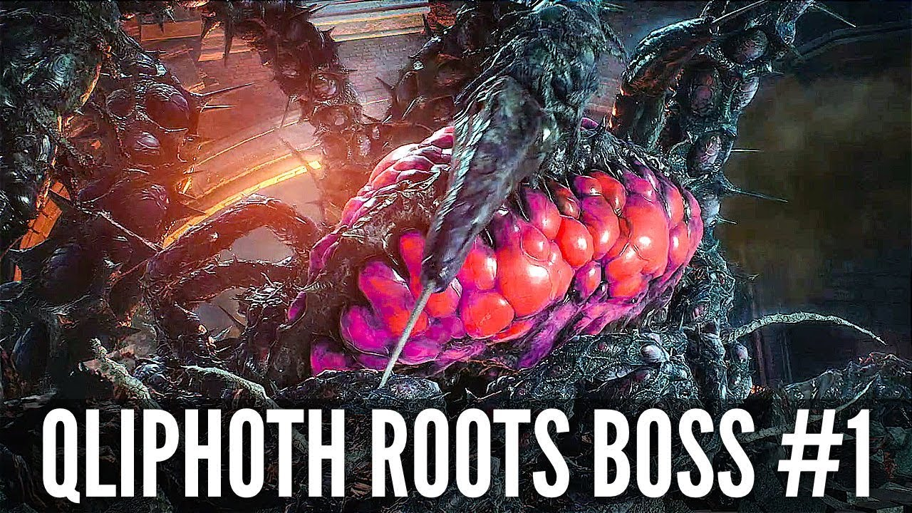 Teufel kann 5 Qliphoth Roots Boss Fight # 1 (1080p HD 60FPS) + video