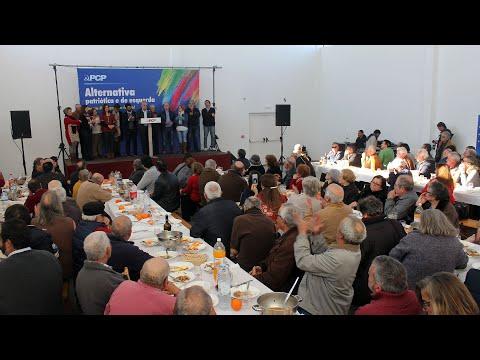 Jerónimo de Sousa: Almoço/comício na Vidigueira