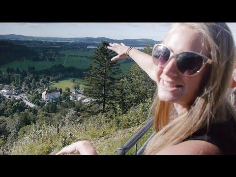 Autobahn to Epic Neuschwanstein! - Travel Germany vlog 180