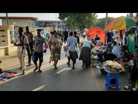 AFRICA WALKING STREETS (this is Crazy) Street Food, Businesses and More