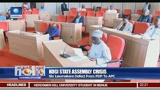 News@10: Six Kogi Lawmakers Defect From PDP To APC 19/03/17 Pt 2