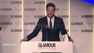 James Norton on winning Man of the Year award at Glamour Women of the Year Awards, June 07, 2016