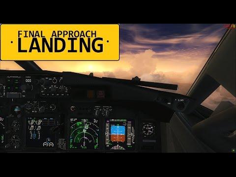 FSX Final Approach - Landing at Antalya (LTAI) | PMDG 737 THY Star Alliance