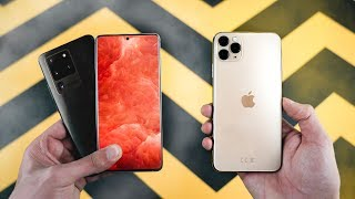Samsung Galaxy S20 Ultra vs iPhone 11 Pro Max - Which Should You Buy?