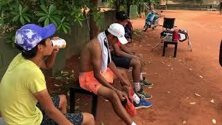 章誠 網球 ( 台中蓬勃網球訓練學院 )( hope tennis  academy )( HTA ) 一天的訓練生活紀錄