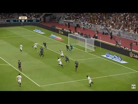 Valencia FC Vs Juventus | UEFA Champions League 2018/2019 | 19 Septembre 2018 | PES 2019