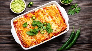 How To Make Chicken Enchiladas