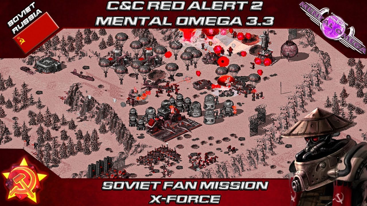 Mental Omega 334 Red Alert 2 Soviet Fan Mission