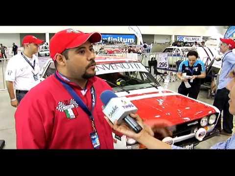 Muestra de los carros que participaron en la carrera panamericana Veracruz 2012