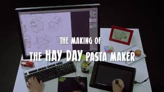 The making of: Hay Day Pasta Maker