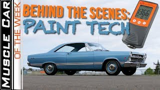 Behind The Scenes Paint Tech Muscle Car Of The Week Video Episode 311