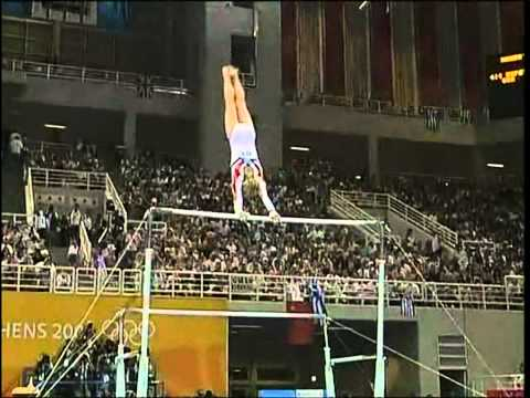 Courtney Kupets - Uneven Bars - 2004 Olympics Event Finals