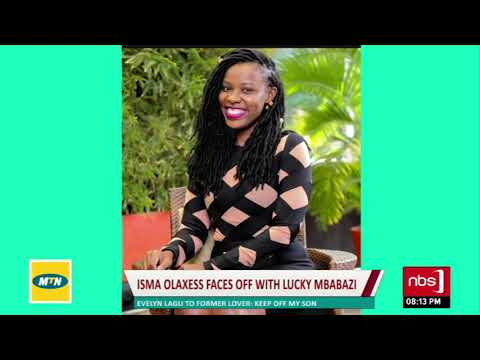 Lucky Mbabazi reports Isma Olaxess to police | Sanyuka Uncut