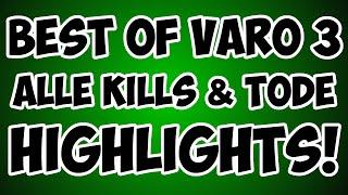 Minecraft VARO 3 Highlights - Alle Kills & Tode + Rangliste