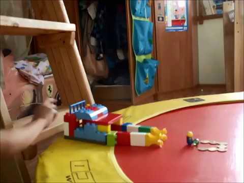 Развивающий конструктор Строитель для детей типа Лего. Строим .