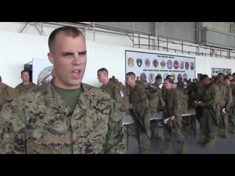 Phiblex 15 -  US Marines Commander and Officer in Charge Interview