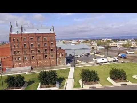 A day in Port Adelaide, with a drone.