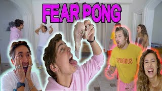 COUPLES FEAR PONG (DISGUSTING) ft. Colby Brock , Scotty Sire, & Kristen McAtee