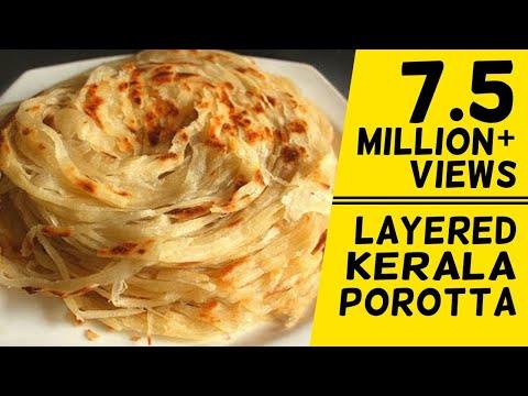 How To Make Layered Soft Parotta / Kerala Paratta