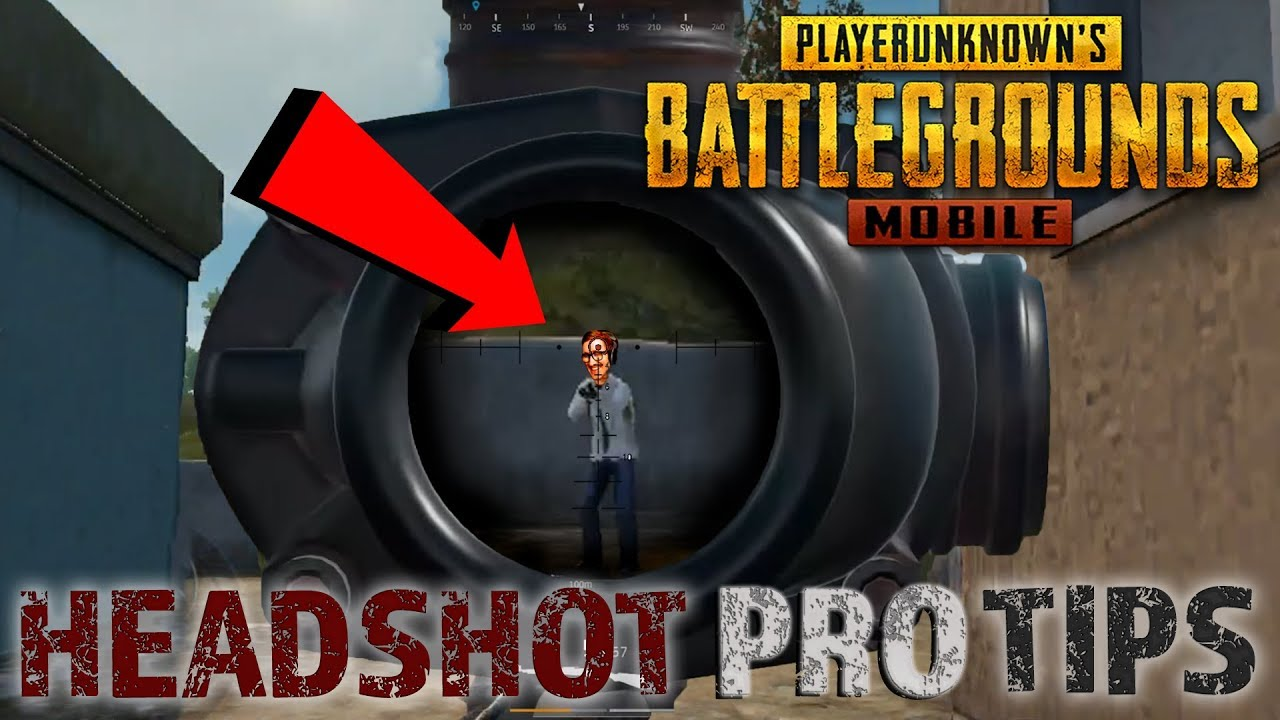 TOP 5 PRO TIPS TO GET HEADSHOTS // PUBG Mobile