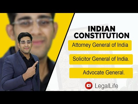 Attorney General of India I Solicitor General of India I Advocate General I Explained in Hindi.