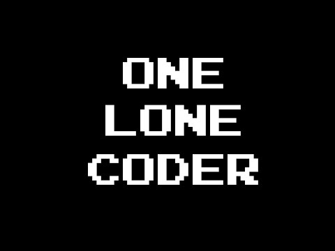 One Lone Coder - Channel Introduction