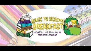 Back to School Breakfast 2021