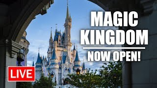 🔴 Live: Magic Kingdom NOW OPEN! | Walt Disney World Live Stream