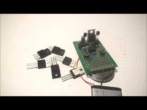 Простой тестер полевых транзисторов MOSFET