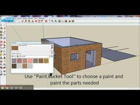 Google sketchup basics tutorial 2016 doovi for Minimalist house sketchup