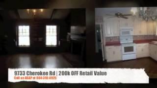Home For Sale in Richmond Huguenot Farms Virginia | 9733 Cherokee Rd