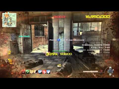 MW3 Chaos Mode: 55.9million Score - 544 Combo in Underground |