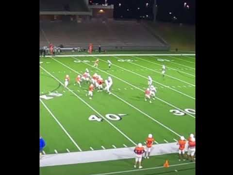 My football highlights at cook middle school