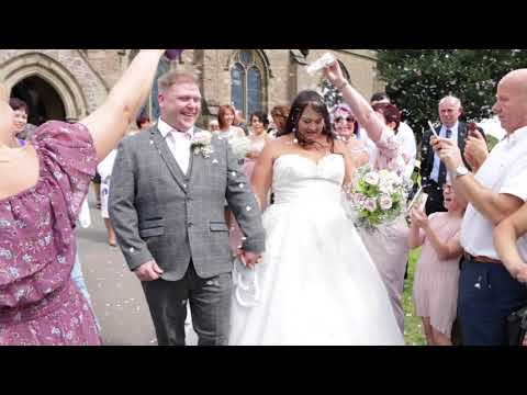 Rebecca & Anthony Wesley's Wedding Highlights