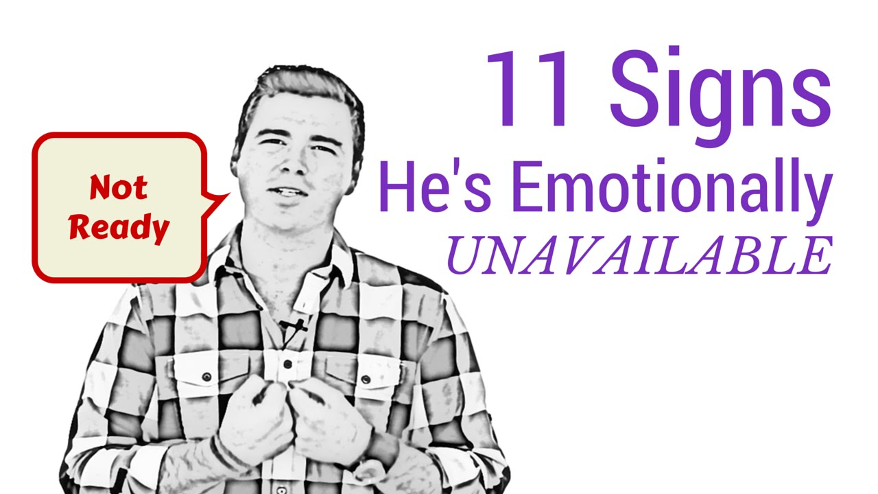 How to have a relationship with an emotionally unavailable man